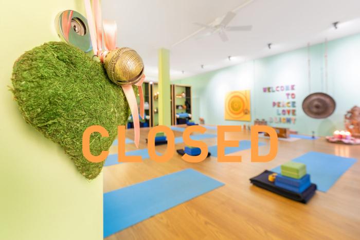 Yoga Kilchberg closed - geschlossen