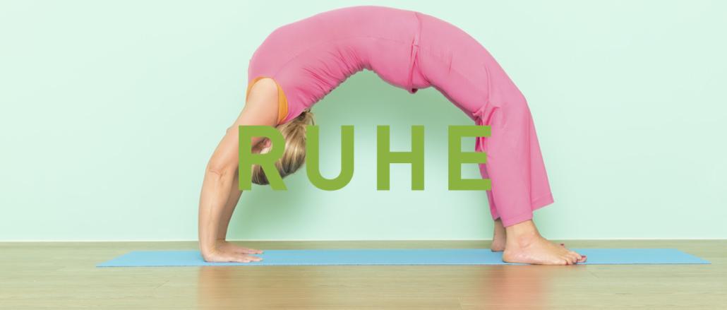 Yoga Kilchberg: Gabrielle Baumann - Ruhe